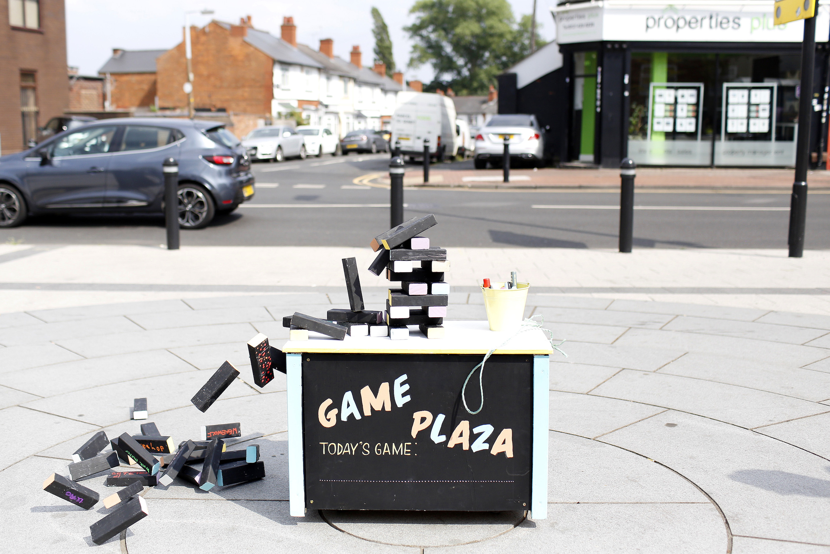 Game Plaza | Anna Horton Cremin | 2018 | Commissioned by Ampersand Projects part of Good Game, Birmingham | image: Stephen Burke